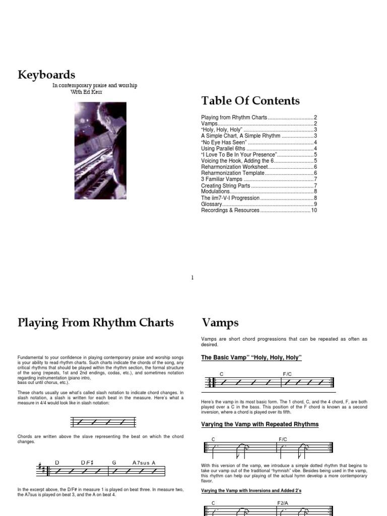 Keyboard Companion Workbook Chord Music Pitch Music