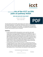 Comments on the EPA Palm Oil Pathway Notice of Data Availability, 27 April 2012