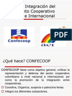 Tarea Entes de Integración del Movimiento Cooperativo Nacional e Internacional