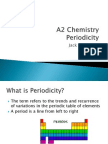 Periodicity Power Point