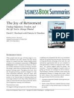 Joy of Retirement