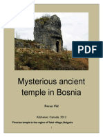 Petko Nikolic Vidusa - Mysterious ancient temple in the Bosnia