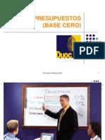 Clase (Presupuesto Base Cero)