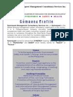 Synerquest 2012 Profile Latest