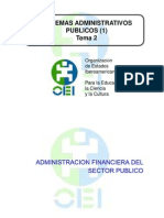 ADMINISTRACION FINANCIERA (I)