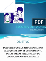 Escuela de Padres Segunda Charla