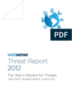 2012 Websense Threat Report