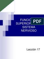 Lección 17 Funciones superiores del sistema nervioso