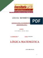 logica matematica investigacion
