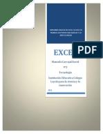 Manejando Excel