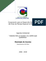 Agenda Ambiental Acacias