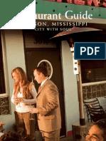 Restaurant Guide 2010 Final - For Web