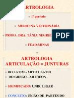 Tania Roteiro 5 Teor Artrologia