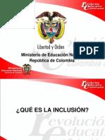 Comprendiendo La Inclusion Tema 1septiembre