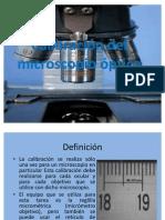 56590720 Calibracion Del Microscopio Optico