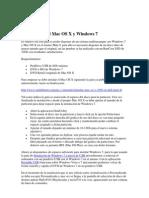 Arranque Dual Mac OS X y Windows 7