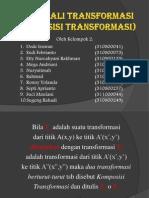Hasil Kali Transformasi BPagi