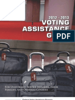 Voting Assistance Guide 2012