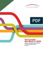 Canada 2020 Book