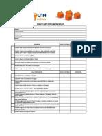 Check List Fechamentos 2011