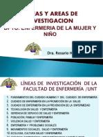 Lineas de Investigacion Dpto 2005 -2011