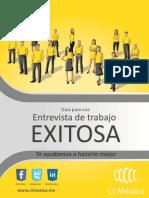 Guia Para Una Entrevista de Trabajo Exitosa
