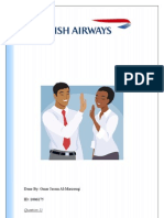 business strategy of british airways