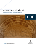Graduate Orientation Handbook - Possibly Outdated