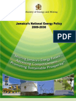 Jamaica's National Energy Policy 2009-2030