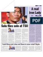 Sulu Flies Solo With TSO