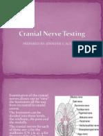 Cranial Nerve Testing.ppt 2012