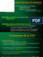 Prevencion y Manejo TVP