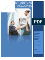 Joint Venture Accounts