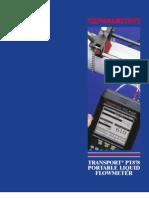 Panametrics_PT878_Flowmeter