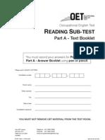 OET Reading