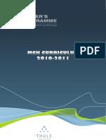 MCH Curriculum 2010-2011