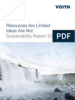 Voith Sustainability Report 2010