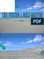 Soil Erosion & Mass Wasting