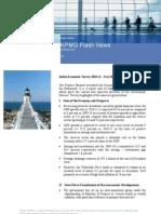 KPMG Flash News Economic Survey 2010 11