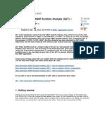 ABAP Runtime Analysis