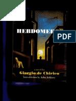 4206e389de79 33875222 Hebdomeros by Giorgio de Chirico
