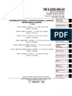 ARMY TM 9-2320-289-34 Maintenance-Support Manual Truck (Chevy) 1-¼ TON 4X4 Tactical Vehicle May92