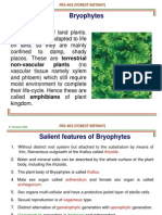 FRS-401(Bryophytes)