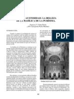Serena austeridad. La belleza de la Basílica de la Purísima