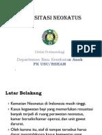 Emd166 Slide Resusitasi Neonatus