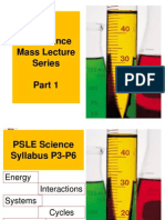 P6 Mass Lecture 1