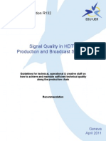 Signal Quality in HDTV