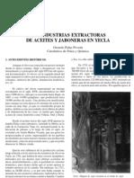 Las industrias extractoras de aceites y jaboneras en Yecla