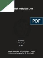 Makalah Instalasi LAN