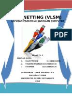 Laporan04 E1 Sulistyorini VLSM